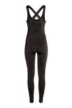 Sleeveless catsuit - Black - Ladies | H&M CN 3