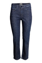 Straight Regular Jeans - Dark denim blue - Ladies | H&M CN 2