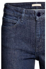 Straight Regular Jeans - Dark denim blue - Ladies | H&M CN 4