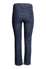Straight Regular Jeans - Dark denim blue - Ladies | H&M CN 3