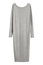 Calf-length dress - Grey marl - Ladies | H&M CN 2