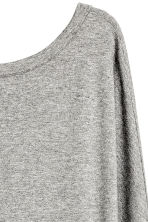 Calf-length dress - Grey marl - Ladies | H&M CN 3