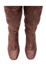 Thigh high boots - Bronze - Ladies | H&M CN 2