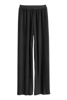 Plissierte Pull-on-Hose