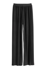 Pantaloni pull-on plissettati - Nero - DONNA | H&M IT 2