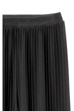 Pantaloni pull-on plissettati - Nero - DONNA | H&M IT 3