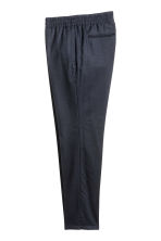Elasticated suit trousers - Dark blue - Men | H&M CN 3