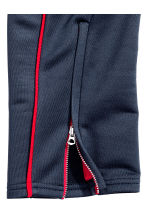 Joggers in acetato - Blu scuro/rosso - DONNA | H&M IT 3