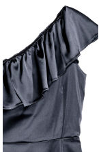 One-shoulder dress - Dark blue - Ladies | H&M CN 3