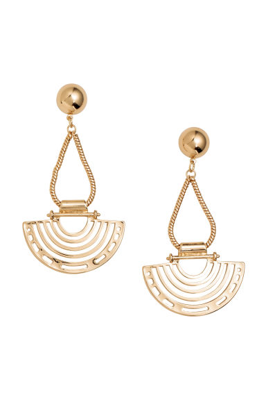 Large earrings - Gold - Ladies | H&M CN 1