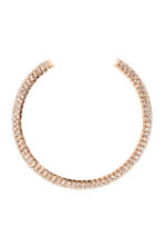Sparkly stone choker - Gold - Ladies | H&M CN 1