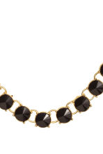 Short necklace - Black/Gold - Ladies | H&M CN 2