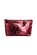 Make-up bag - Red/Metallic - Ladies | H&M CA 1