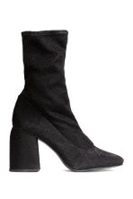 Glittery boots - Black - Ladies | H&M GB 2