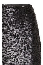 Sequined skirt - Black - Ladies | H&M CN 3