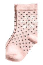 3-pack socks - Light pink - Kids | H&M CN 3