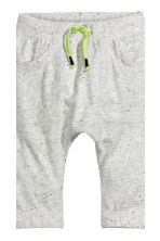 2-pack jersey trousers - Light grey marl - Kids | H&M CN 3