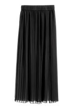 Pleated skirt - Black - Ladies | H&M CN 2