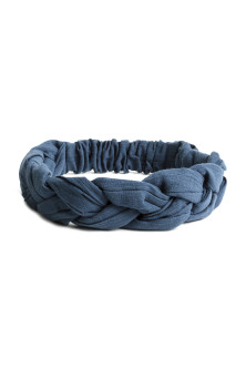 Braided cotton hairband