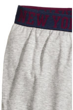 Pyjama bottoms - Grey marl - Kids | H&M CN 2