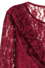 Lace body - Dark red - Ladies | H&M CN 3