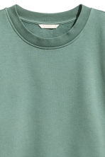 Sweatshirt - Green - Ladies | H&M CN 3
