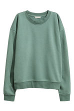 Sweatshirt - Green - Ladies | H&M CN 2
