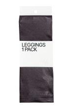 Coated leggings - Dark grey - Ladies | H&M CA 2