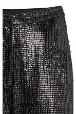 Wide sequined trousers - Black - Ladies | H&M CN 3