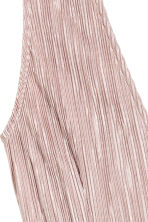 Pleated dress - Light old rose - Ladies | H&M CN 3