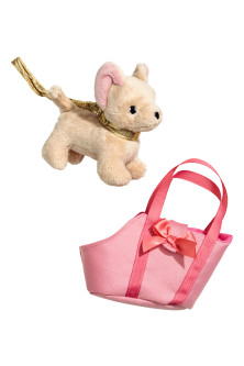 Soft toy and bag