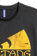 Printed T-shirt - Black/Wu-Tang Clan - Men | H&M CN 3