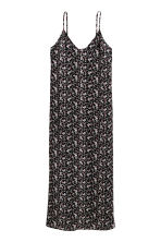 Patterned maxi dress - Black/Patterned - Ladies | H&M CN 2