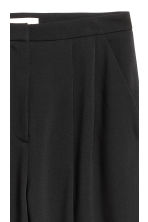 Wool-blend trousers - Black - Ladies | H&M CN 4