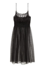 Transparent mesh dress - Black - Ladies | H&M GB 2