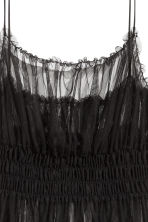 Transparent mesh dress - Black - Ladies | H&M GB 3