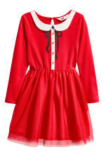 Christmas dress - Red -  | H&M GB 2