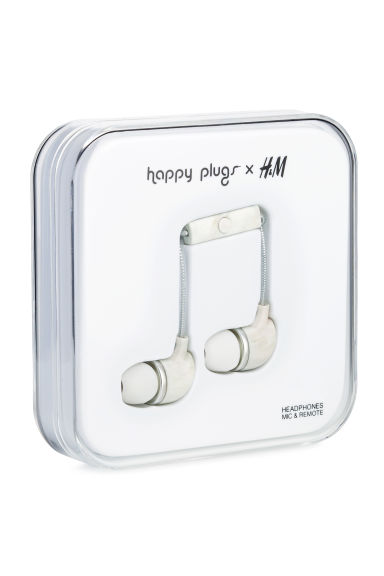 In-ear headphones - Mother of pearl -  | H&M GB