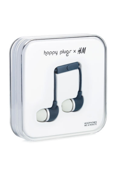 In-ear headphones - Dark blue -  | H&M CA 1