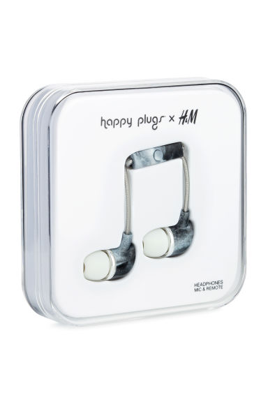 In-ear headphones - Black/Grey -  | H&M CA