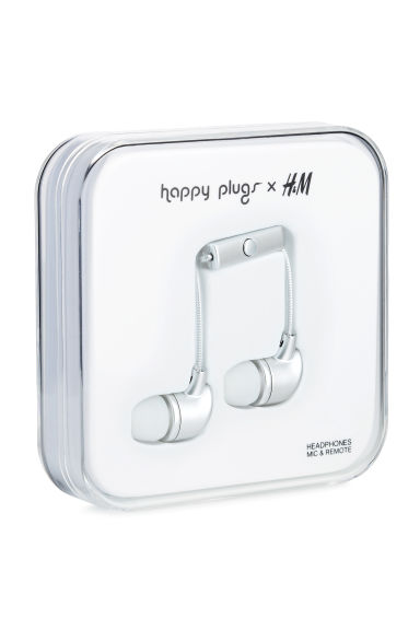 In-ear headphones - White/Frosted -  | H&M CA 1
