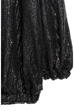 Sequined dress - Black -  | H&M CA 3