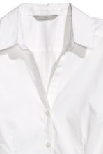 Stretch shirt - White - Ladies | H&M 3