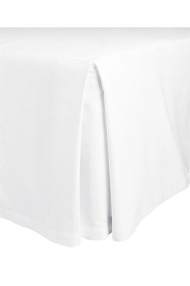 Cotton valance - White -  | H&M CN 1