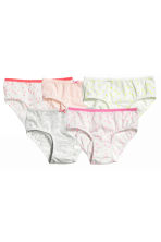5-pack briefs - White/Heart - Kids | H&M 1