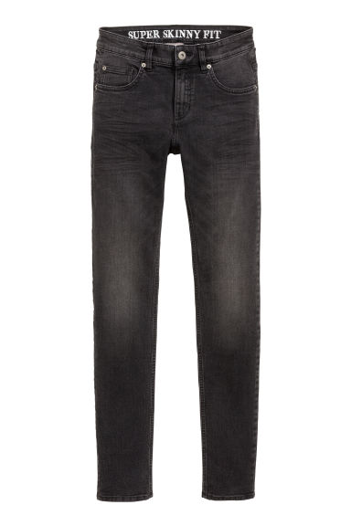 Super Skinny Jeans - Noir washed out - HOMME | H&M FR 1