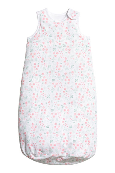 Sleeping sack - White/Floral - Kids | H&M 1