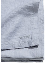 Washed linen tablecloth - Pigeon blue - Home All | H&M CN 2