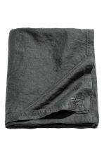 Washed linen tablecloth - Anthracite grey - Home All | H&M CN 1