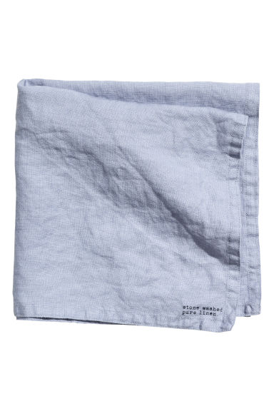 Linen napkin - Pigeon blue - Home All | H&M CN 1